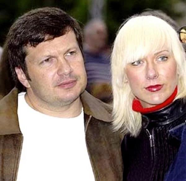 Эльга Сэпп, как выглядит жена знаменитого отечественного ведущего Владимира Соловьева
